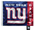 NEW YORK GIANTS Flag with 11in.x15in. Flag Variety