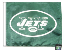 NEW YORK JETS Flag with 11in.x15in. Flag Variety