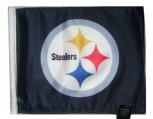 PITTSBURGH STEELERS Flag with 11in.x15in. Flag Variety