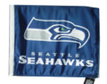 SEATTLE SEAHAWKS Flag with 11in.x15in. Flag Variety