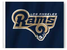 Los Angeles Rams Flag - 11in.x15in.