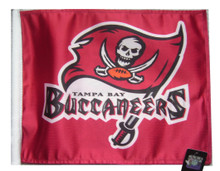 TAMPA BAY BUCCANEERS Flag with 11in.x15in. Flag Variety