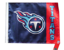 TENNESSEE TITANS Flag with 11in.x15in. Flag Variety