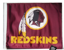 WASHINGTON REDSKINS Flag with 11in.x15in. Flag Variety