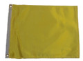 YELLOW 11in X 15in Flag with GROMMETS