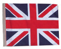 SSP Flags UNION JACK Motorcycle Flag with Sissybar Pole or Trunk Pole