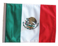 Mexico 11in x15 Replacement Flag for Motorcycle, Golf Cart and Car flag poles