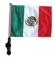 SSP Flags MEXICO Golf Cart Flag with SSP Flags Bracket and Pole