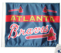 ATLANTA BRAVES Flag with 11in.x15in. Flag Variety
