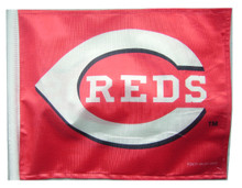 CINCINNATI REDS Flag with 11in.x15in. Flag Variety
