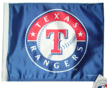 TEXAS RANGERS Flag with 11in.x15in. Flag Variety