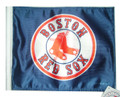 BOSTON RED SOX Flag with 11in.x15in. Flag Variety