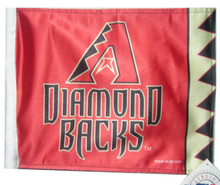 ARIZONA DIAMONDBACKS Flag with 11in.x15in. Flag Variety