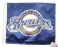 MILWAUKEE BREWERS Flag with 11in.x15in. Flag Variety