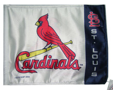ST LOUIS CARDINALS Flag with 11in.x15in. Flag Variety