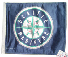 SEATTLE MARINERS Flag with 11in.x15in. Flag Variety