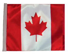 Canada 11in x15 Replacement Flag for Motorcycle, Golf Cart and Car flag poles