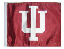 INDIANA UNIVERSITY HOOSIERS Flag with 11in.x15in. Flag Variety