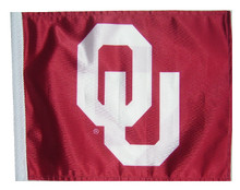 OKLAHOMA SOONERS Flag with 11in.x15in. Flag Variety