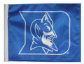 DUKE UNIVERSITY w/ Logo Flag with 11in.x15in. Flag Variety