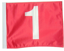 Red #1 Flag