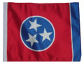 TENNESSEE Motorcycle Flag with Sissy or Trunk Style Pole
