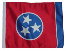 TENNESSEE 11in x15 Replacement Flag for Motorcycle, Golf Cart and Car flag poles