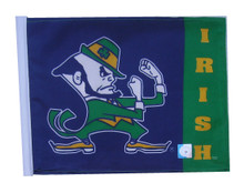 NOTRE DAME FIGHTING IRISH Flag with 11in.x15in. Flag Variety