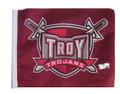 TROY TROJANS 11in.x15in. Flag