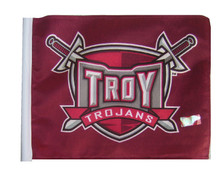 TROY TROJANS 11in.x15in. Flag
