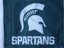 MICHIGAN STATE SPARTANS Flag - 11in.x15in.