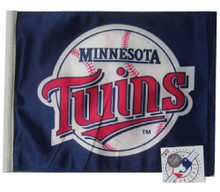 MINNESOTA TWINS Flag with 11in.x15in. Flag Variety