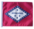 SSP Flags STATE of ARKANSAS Motorcycle Flag with Sissybar Pole or Trunk Pole