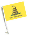DONT TREAD ON ME Car Flag with Pole