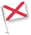 STATE of ALABAMA Car Flag with Pole