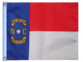 STATE OF NORTH CAROLINA 11in X 15in Flag with GROMMETS