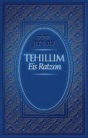 Tehillim Eis Ratzon: Blue Cover