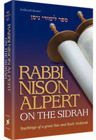 Rabbi Nison Alpert on the Sidrah
