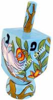 Ceramic Dreidel Tree of Life