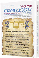 Trei Asar II / Twelve Prophets II A new translation-commentary anthologized from rabbinic sources