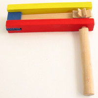 Purim Wood Grager Minil Colored (Pack of 12) GR-W1
