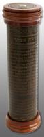 "Antique Leather and Wood Megillah Holder 12"" (MG-ALR12)"