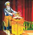 Wood Model of The Golden Altar of Incense of the Temple (Do it Yourself Kit) (GM-TL61) דגם מזבח הקטורת של בית המקדש