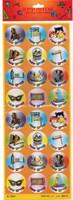 Purim Stickers GM-PS