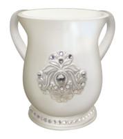 Acrylic Washing Cup Pearl Diamond