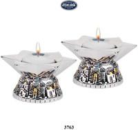 Jerusalem Candlesticks Round
