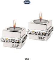 Jerusalem Strip Cylinder Candleholder