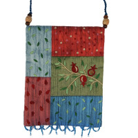 Multicolor Flowers Applique Embroidered Bag