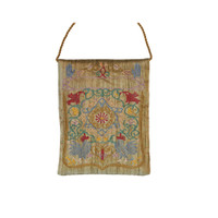 Gold Oriental Embroidered Bag