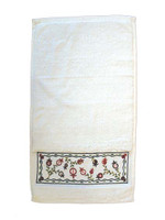 Pomegranate Embroidered Netilat Yadayim Towel